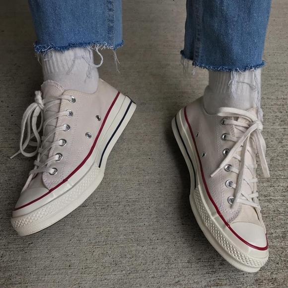 wholesale dealer b3d57 39f7f Converse Parchment  70s Chuck Taylor Sneakers